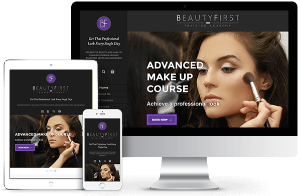 BeautyFirst Training Academy - Shopify Ecommerce Website Development and Branding Creation