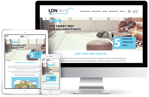 LDN Rent - Custom Build Web Applications