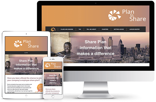 Plan To Share - Bespoke Wordpress Theme