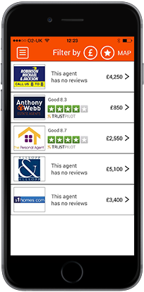 Native Mobile App For Comparing Estate Agents